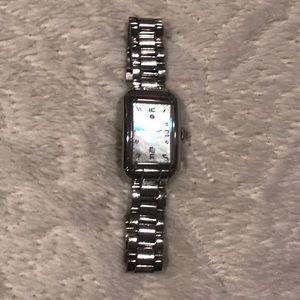 Silver Michele watch